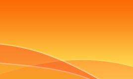 абстрактные волны померанца предпосылки Стоковое Изображение RF