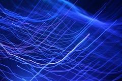 абстрактные волны сини предпосылок Стоковые Фото