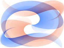 абстрактные волны текстуры Стоковые Фотографии RF