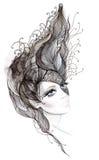 абстрактные волосы Стоковые Фотографии RF