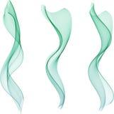 абстрактные волны цвета Стоковое Изображение RF