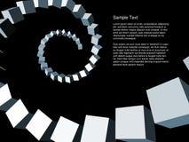 абстрактные габаритные динамически 3 Стоковые Фотографии RF