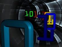 абстрактные габаритные динамически 3 Стоковая Фотография RF