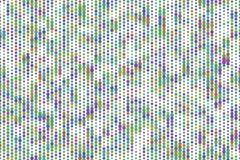 Абстрактные геометрическая картина шестиугольника, красочный & художнический для графического дизайна, каталога, ткани или печата бесплатная иллюстрация