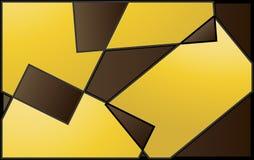 Абстрактные геометрические формы Стоковые Изображения