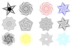 Абстрактные геометрические формы, иллюстрация вектора