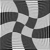 Абстрактные геометрические monochrome графики с пересекая линиями иллюстрация вектора