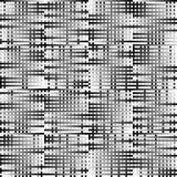 Абстрактные геометрические monochrome графики с пересекая линиями Стоковые Изображения RF