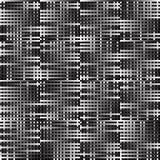 Абстрактные геометрические monochrome графики с пересекая линиями Стоковые Фото