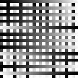Абстрактные геометрические monochrome графики с пересекая линиями Стоковое Изображение RF