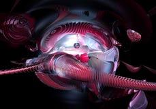 абстрактные глисты космоса Стоковое Фото