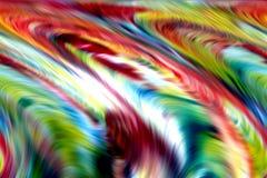Абстрактные голубые желтые белые цвета и предпосылка зеленого золота красные линии движение стоковые изображения rf