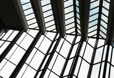абстрактные голубые окна Стоковое Фото