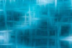 Абстрактные голубые пересекающаяся линия со случайной светлой чертой для предпосылки стоковая фотография rf
