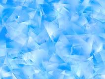 абстрактные голубые плоскости иллюстрация штока