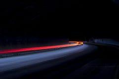 Абстрактные голубые, желтые, красные и белые лучи Стоковые Фотографии RF