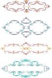 абстрактные граници конструируют вектор элементов иллюстрация штока