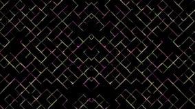 Абстрактные двигая линии петля акции видеоматериалы
