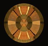 Абстрактные деревянные образцы на черной предпосылке иллюстрация штока