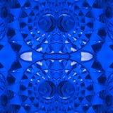 абстрактные диаграммы с светлыми фарами в голубых цвете, предпосылке и текстуре Стоковые Фото