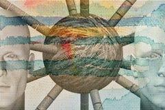 абстрактные диаграммы Стоковое фото RF