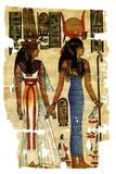 абстрактные египетские картины Стоковое Фото
