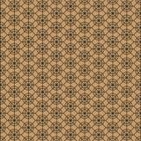 Абстрактные декоративные круг и линия картина на коричневой предпосылке Стоковые Фото