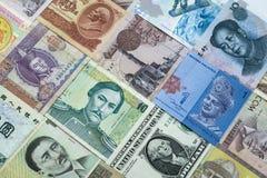 абстрактные деньги предпосылки Стоковая Фотография