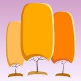 Абстрактные деревья Стоковое фото RF