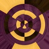 Абстрактные деревянные образцы куропатки, boxwood и фиолетового сердца Стоковые Изображения
