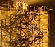 Абстрактные лестницы башни стоковые фотографии rf