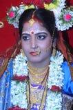 абстрактные детеныши венчания девушки платья невесты предпосылки Стоковые Изображения RF