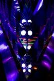 Абстрактные живые свет и refection цвета стоковое изображение