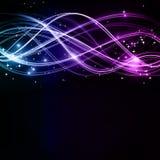 абстрактные звезды картин волнистые Стоковые Изображения