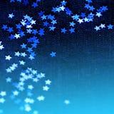 абстрактные звезды предпосылки Стоковые Изображения RF