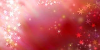 абстрактные звезды предпосылки Стоковое Фото