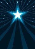 абстрактные звезды силы eps Стоковые Фотографии RF