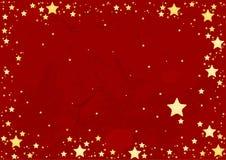 абстрактные звезды предпосылки Стоковое фото RF