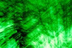 абстрактные зеленые валы Стоковая Фотография