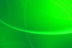 абстрактные зеленые волны волшебства Стоковая Фотография