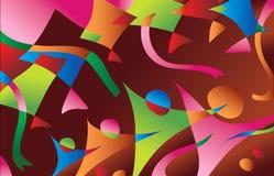 абстрактные змеи предпосылки Стоковые Изображения