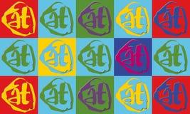 абстрактные знаки Стоковое Фото