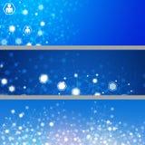 Абстрактные знамена сети Стоковая Фотография RF