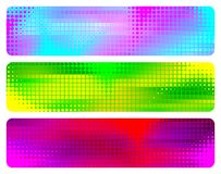 абстрактные знамена Стоковые Фото