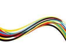 абстрактные игры олимпийские Стоковое Изображение