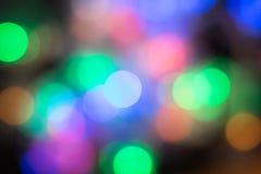 абстрактные изображения рождества еще многие мое портфолио Bokeh нерезкости света ночи города, defocused предпосылка стоковое фото