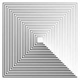 Абстрактные линии контура излучать бесплатная иллюстрация