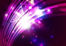 Абстрактные линии с светлой красочной предпосылкой Стоковая Фотография