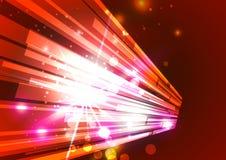 Абстрактные линии с светлой предпосылкой вектора Стоковое фото RF