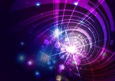 Абстрактные линии с светлой предпосылкой Стоковое фото RF
